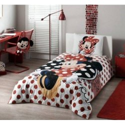 Покрывало стёганое «Disney Minnie Mouse» + наволочка