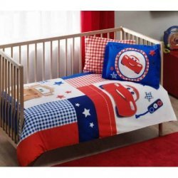 Детское постельное белье TAC Disney Cars Baby Patchwork