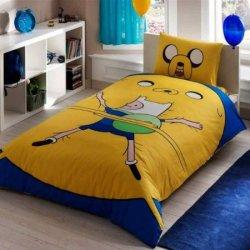 Полуторный подростковый комплект постельного белья «Adventure Time»