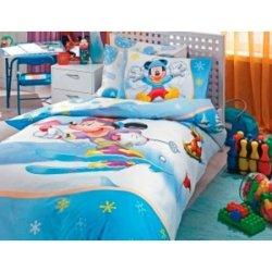 Детское постельное белье TAC Disney Mickey Slalom