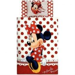 Полуторный детский комплект постельного белья «Minnie Mause»