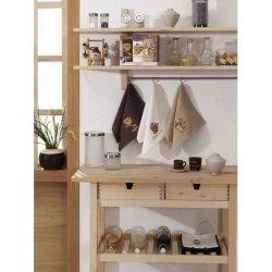 Набор кухонных махровых полотенец «Кофе»