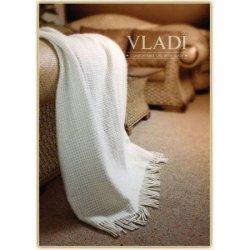 Шерстяной плед Vladi «Рогожка»