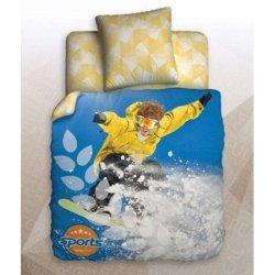 Полуторный подростковый комплект «Snowboarding»