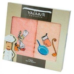 Набор кухонных махровых полотенец «Повар»