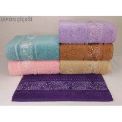 Набор махровых полотенец «Japon-Cicegi»