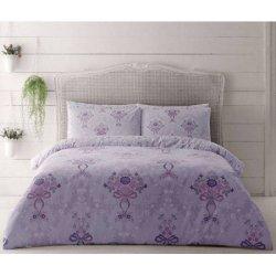 Евро комплект постельного белья Evan lila king XL