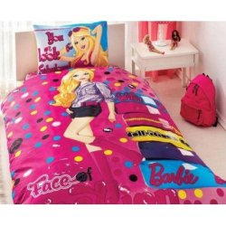 Подростковый комплект постельного белья Barbie Face of Fashion
