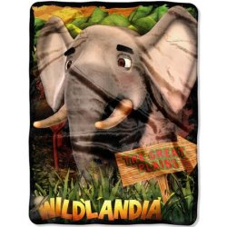 Плед «Wildlandia Plains Elephant»