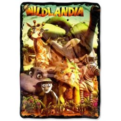 Плед «Wildlandia Wild Bunch»
