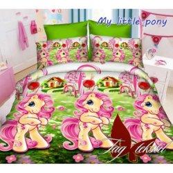 """Детское постельное бельё """"My little pony"""" TAG"""