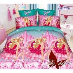 Детское постельное бельё Barbie TAG