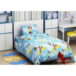 """Детское постельное бельё """"Mickey Mouse blue"""" TAG"""