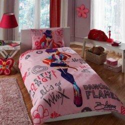 Детское постельное белье Winx Holidey Bloom
