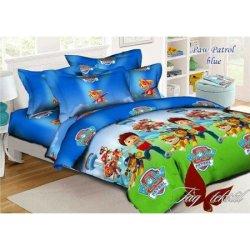 Детское постельное бельё Paw Patrol Blue
