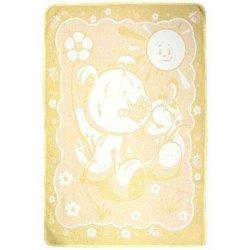 Детское одеяло Vladi Медвежонок Люкс жёлтый