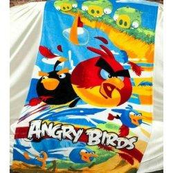 Детское пляжное полотенце Angry Birds