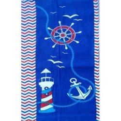 Детское пляжное полотенце Маяк