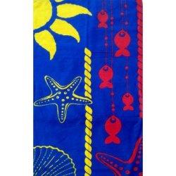 Детское пляжное полотенце  Морская звезда