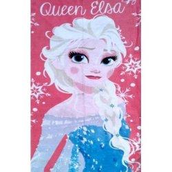 Детское пляжное полотенце Queen Elsa