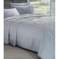 Летнее постельное бельё Пике Benica Mavi