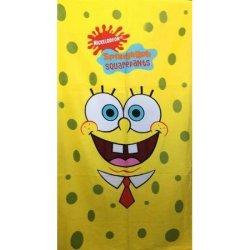 Детское пляжное полотенце Sponge Bob