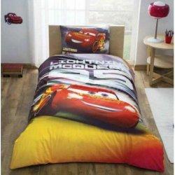 Полуторный детский комплект постельного белья «Cars Lightning»