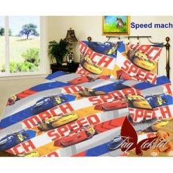 Детское постельное бельё Speed mach