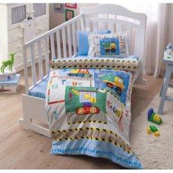 Детское постельное белье в кроватку Toys Mavi