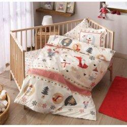 Детское постельное белье Snow Kirmizi в кроватку
