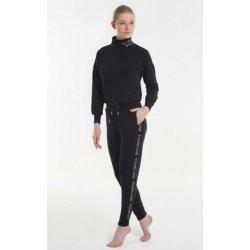 Женская домашняя одежда - водолазка + брюки Yoors Star Y2019AW0121 чёрная