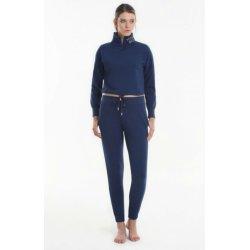 Женская домашняя одежда - водолазка+брюки Yoors Star Y2019AW0121 синяя