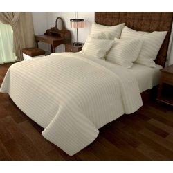 Однотонное постельное бельё G01 beige ранфорс бежевое