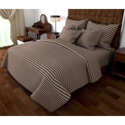 Постельное бельё G01 brown + Grey