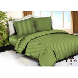 Постельное белье Вилюта сатин страйп Tiare 74 зелёное