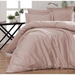 Однотонное постельное белье First Choice Satin Cotton Snazzy Pudra