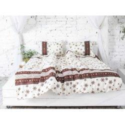 Фланелевое постельное белье 40-0996 Brown