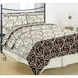 Фланелевое постельное белье 40-0998 brown