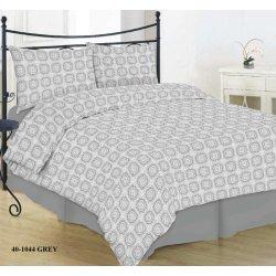 Фланелевое постельное белье 40-1044 grey