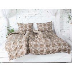 Фланелевое постельное белье 40-1045 Cacao