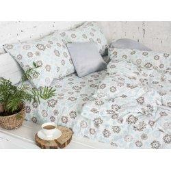 Фланелевое постельное белье 40-1046 L.Blue