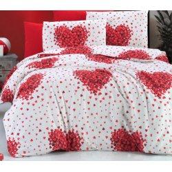 Фланелевое постельное белье День Валентина
