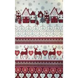 Фланелевое постельное белье Рождество