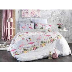 Фланелевое постельное белье Фламинго без компаньона