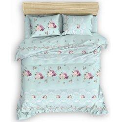 Фланелевое постельное белье Галлика голубое