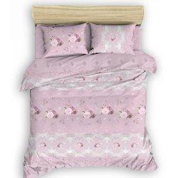 Фланелевое постельное белье Галлика розовое