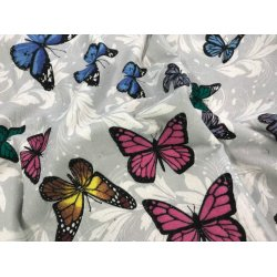 Фланелевое постельное белье Бабочки
