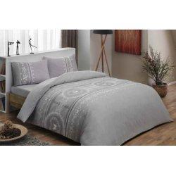 Фланелевое постельное бельё Sonya gri