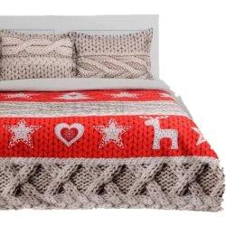 Фланелевое постельное белье Вязаная сказка