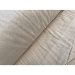Фланелевое постельное белье однотонное Капучино